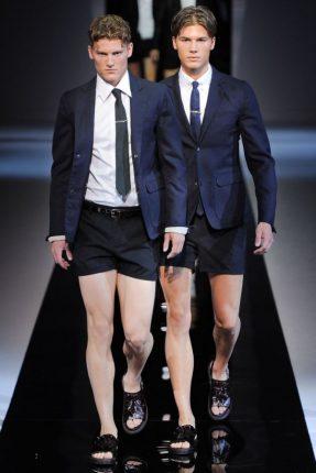 Emporio Armani abbigliamento primavera estate 2013