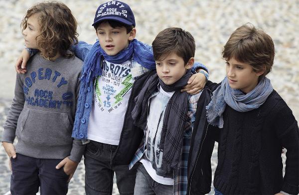 Felpe bambini Benetton autunno inverno 2013 2014
