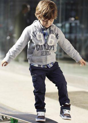 Felpe sportive bambini Benetton autunno inverno 2013 2014