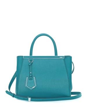Fendi autunno inverno 2014 2015 Aqua 2Jours Mini Tote Bag