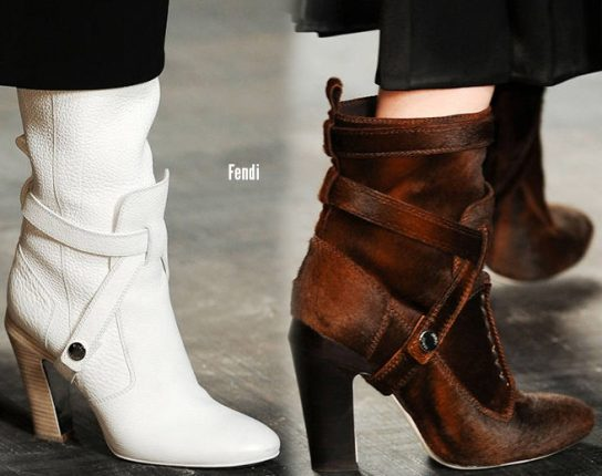 Fendi scarpe catalogo autunno inverno 2014 2015