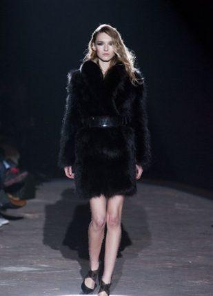 Francesco Scognamiglio collezione autunno inverno 2013 2014 pelliccia