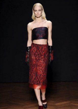 Frankie Morello collezione autunno inverno 2013 2014 top gonna