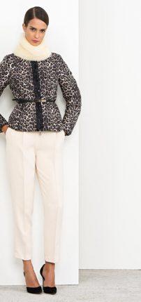 Giacca con cintura Nenette autunno inverno 2015