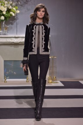 Giacca con ricamo H & M autunno inverno 2013 2014