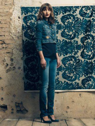 Giacca jeans Fornarina autunno inverno 2015