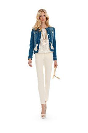 Giacca jeans Luisa Spagnoli primavera estate