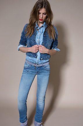 Giacca jeans Patrizia Pepe primavera estate 2014