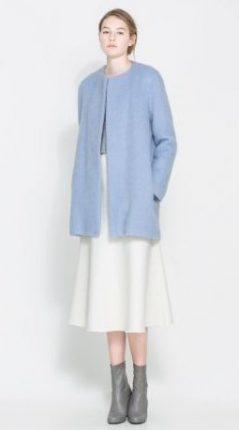 Giacca lunga Zara primavera estate 2014