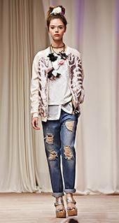 Giacca vento Twin Set jeans primavera estate 2016