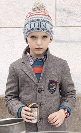 Giacche bambini Benetton autunno inverno 2013 2014