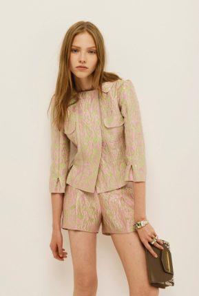 Giacchetta e shorts Nina Ricci primavera estate 2014
