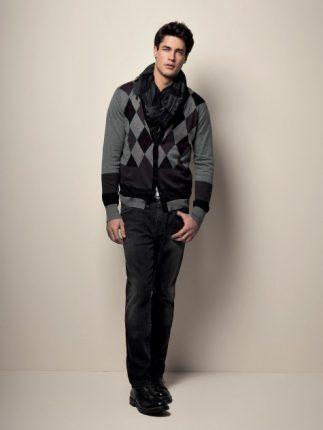 Giacchino lana uomo Liu Jo autunno inverno 2013 2014