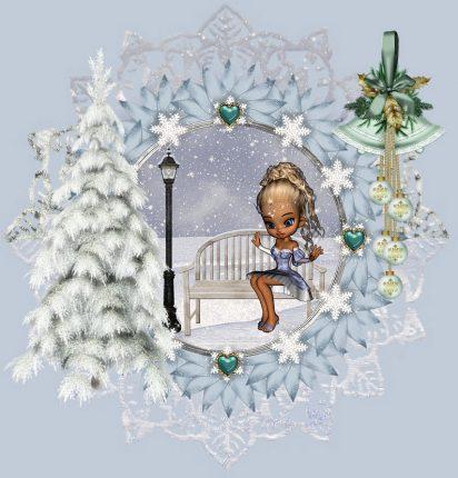 Giardino natalizio