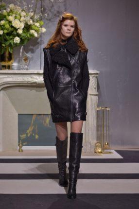 Giubbotto pelle H & M autunno inverno 2013 2014