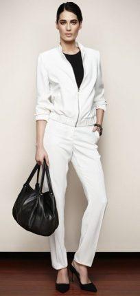 Giubino e pantaloni bianchi Oltre primavera estate 2013