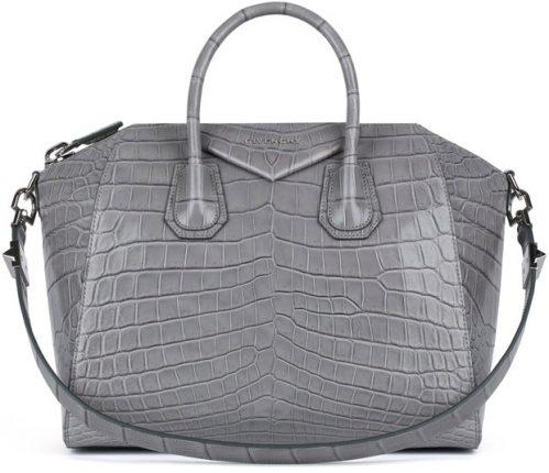 Givenchy borsa grande cocodrillo
