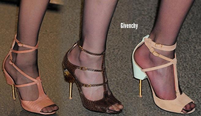 Givenchy scarpe catalogo autunno inverno 2014 2015
