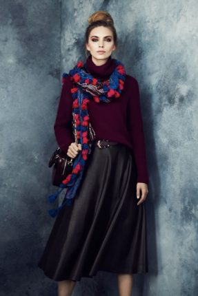 Gonna a ruota Marks & Spencer autunno inverno 2013 2014