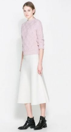 Gonna lunga Zara primavera estate 2014