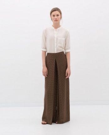 Gonna pantalone Zara autunno inverno 2014 2015