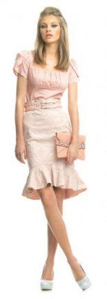 Gonna pencil rosa Fornarina primavera estate 2013