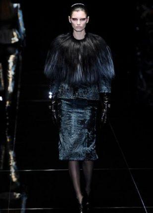 Gucci collezione autunno inverno 2013 2014 pellicciotto