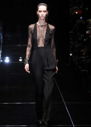 Gucci collezione autunno inverno 2013 2014 tuta