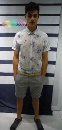 Guess By Marciano camicia fantasia uomo