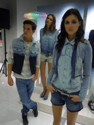 Guess By Marciano jeans e short con camicia denim