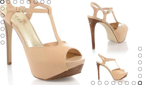 Guess scarpe sandali neutri
