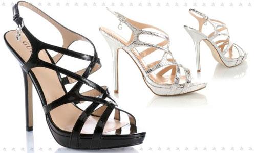 Guess scarpe sandali tacco alto