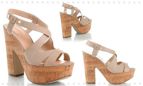 Guess scarpe sandali zeppe