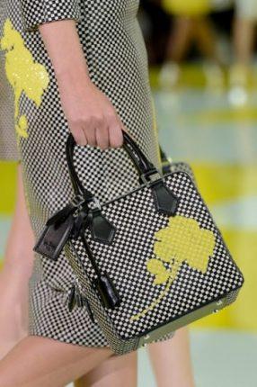 Handbag a quadri Louis Vuitton primavera estate 2013