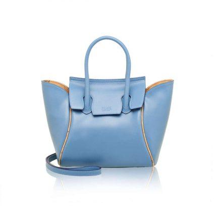 Handbag azzurra Alviero Martini Prima Classe autunno inverno 2017