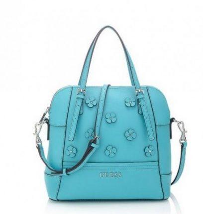 Handbag azzurra Guess