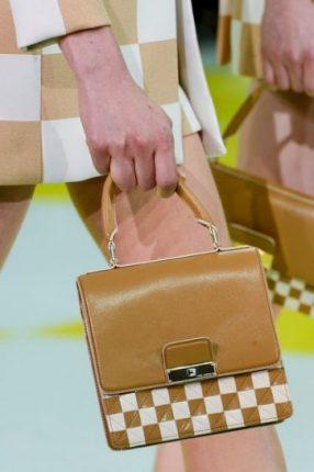 Handbag beige e bianca
