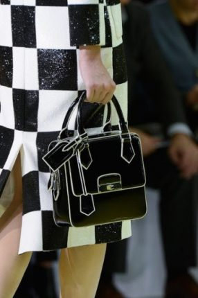 Handbag bianca e nera Louis Vuitton primavera estate 2013