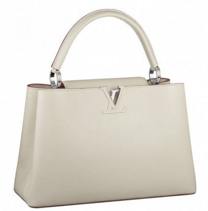 Handbag bianca Louis Vuitton