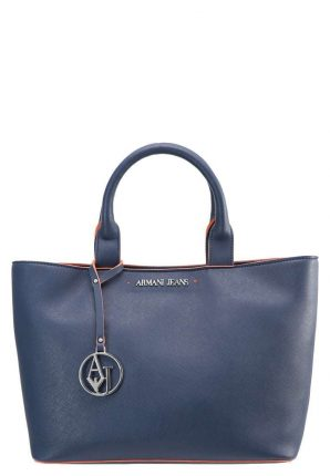 Handbag blu Armani Jeans autunno inverno 2017