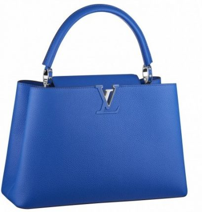 Handbag blu Louis Vuitton