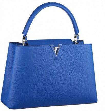 Handbag blu Louis Vuitton