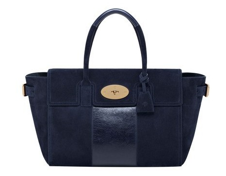 Handbag blu Mulberry