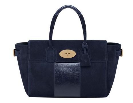 Handbag blu Mulberry