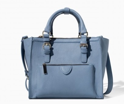 Handbag blu Zara borse autunno inverno 2015