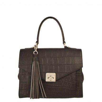 Handbag con patta Tosca Blu