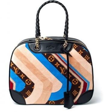 Handbag con stampa Louis Vuitton