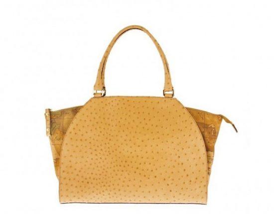 Handbag con stampa struzzo Alviero Martini 1a classe