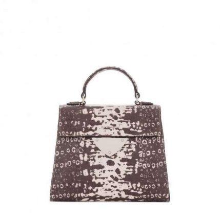 Handbag in rettile Coccinelle autunno inverno 2017
