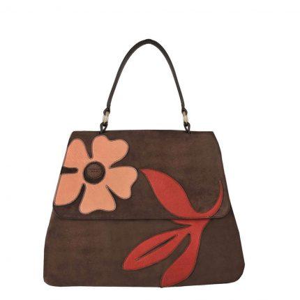 Handbag in suede Tosca Blu autunno inverno 2017
